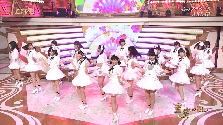 音楽の日 宮脇咲良AKB48 HKT48 20140802 (51)