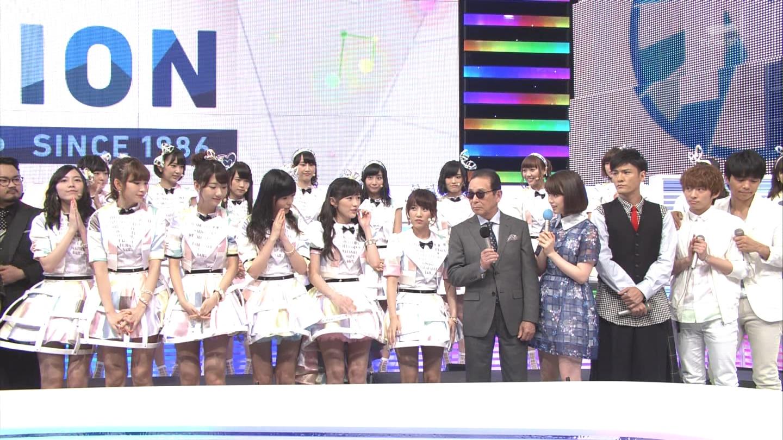 ミュージックステーション AKB48川栄李奈 心のプラカード 20140829 (11)