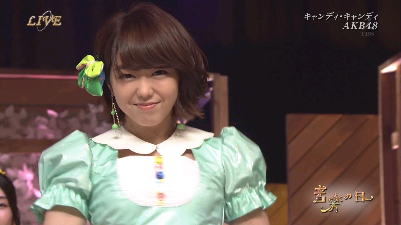 音楽の日 AKB48 キャンディ・キャンディ 20140802 (31)