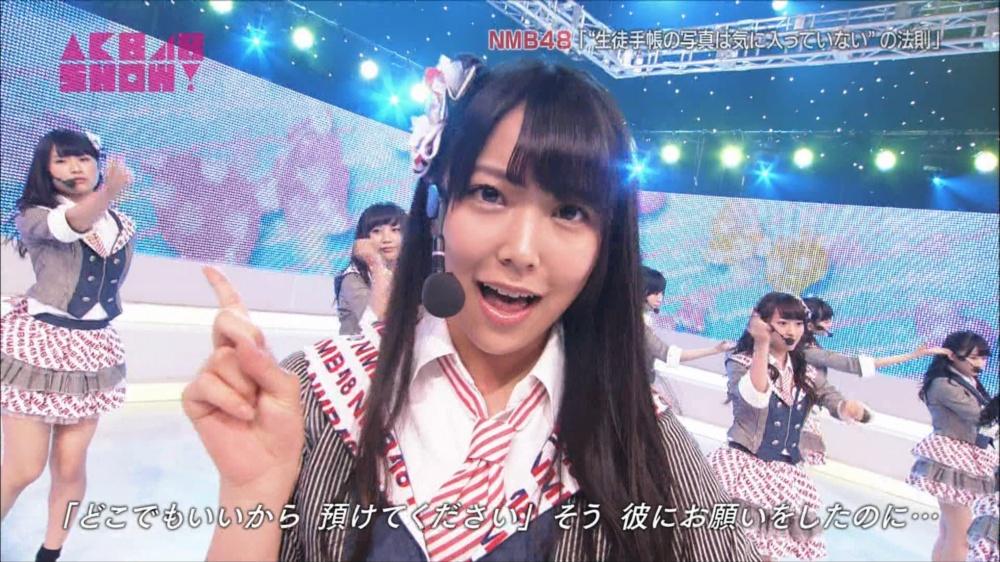 AKB48SHOW NMB48生徒手帳の写真は気に入ってないの法則 20140816 (36)_R
