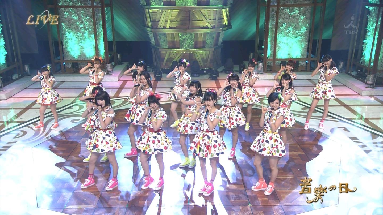 音楽の日 宮脇咲良AKB48 HKT48 20140802 (19)
