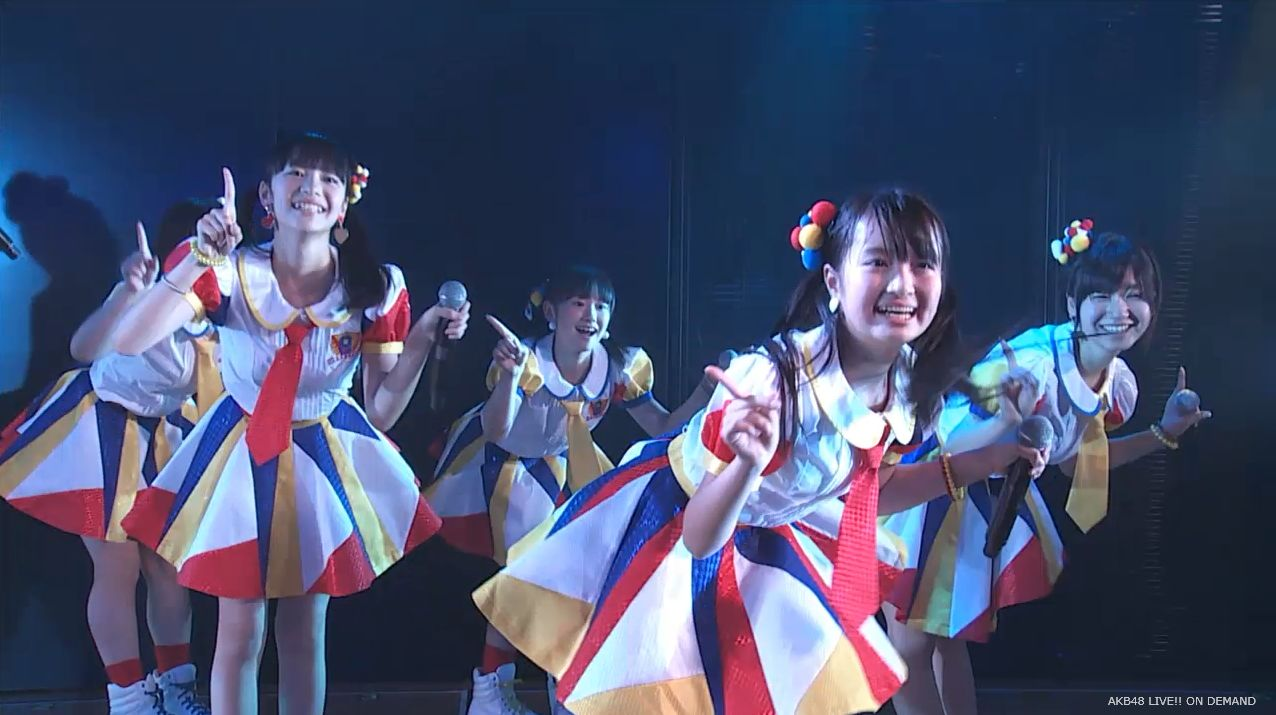 AKB48チーム8 ポニーテールとシュシュ 20140805 (1)