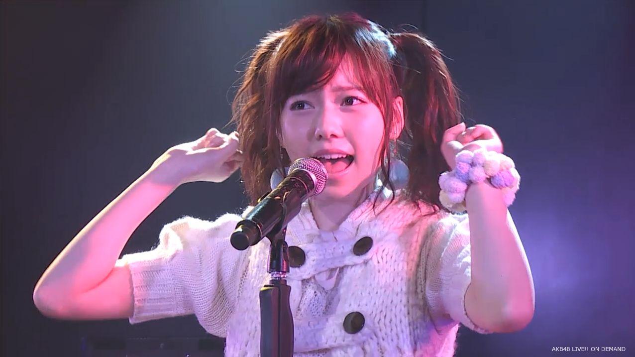 AKB48 チームAツインテール公演  島崎遥香 ハート型ウィルス (11)