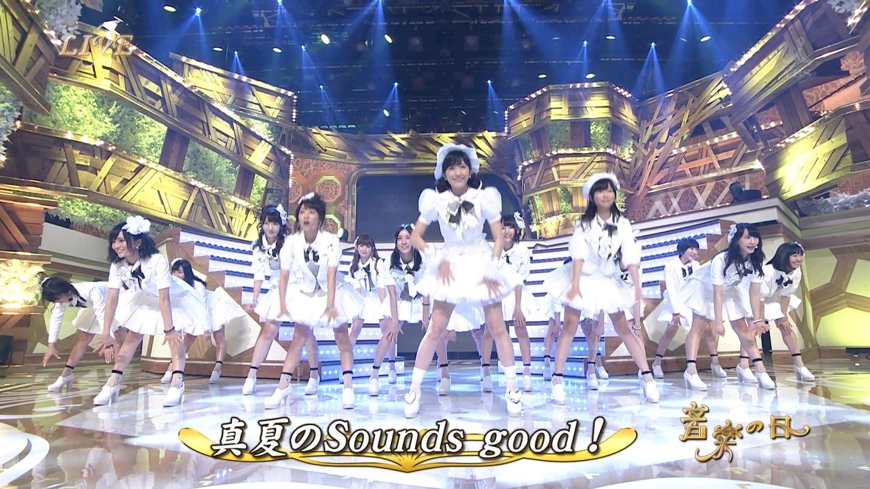 音楽の日 宮脇咲良AKB48 HKT48 20140802 (54)