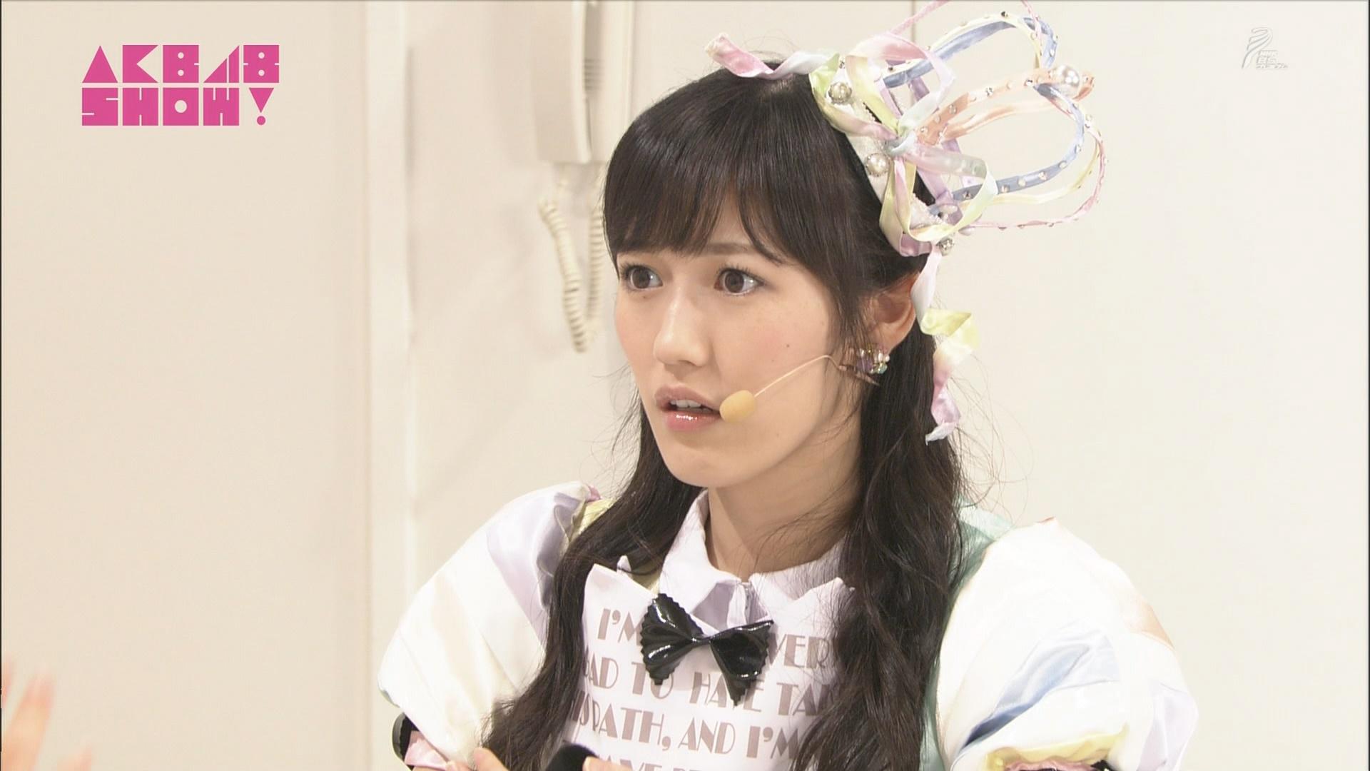 AKB48SHOW 心のプラカード 渡辺麻友 20140830 (4)