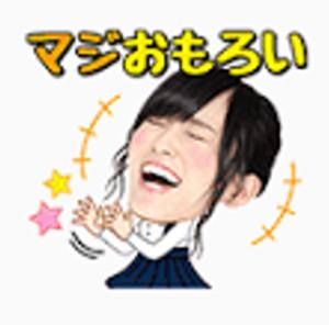 LINEスタンプAKB48 12
