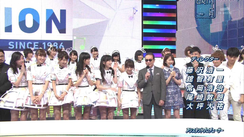 ミュージックステーション AKB48宮脇咲良 心のプラカード 20140829  (23)