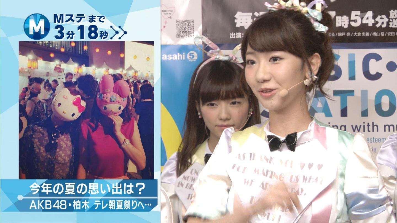 ミュージックステーション AKB48島崎遥香 心のプラカード 20140829 (6)