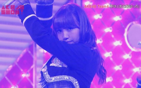 AKB48SHOW チーム4好きといえば良かった 加藤玲奈 20140830 (14)
