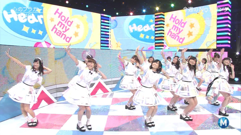 ミュージックステーション AKB48渡辺麻友 心のプラカード 20140829 (42)
