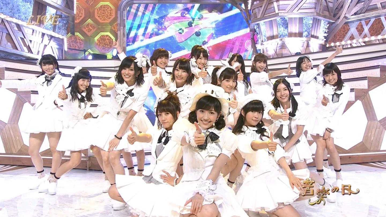 音楽の日 宮脇咲良AKB48 HKT48 20140802 (65)