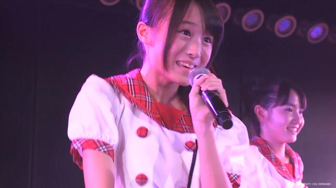 チーム8坂口渚沙 劇場公演デビュー 20140806 (41)