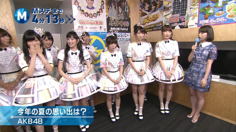 ミュージックステーション AKB48宮脇咲良 心のプラカード 20140829