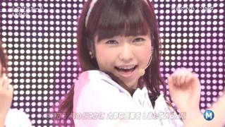 ミュージックステーション AKB48島崎遥香 心のプラカード 20140829 (22)