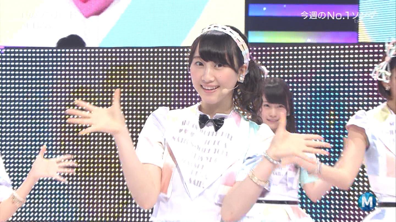 ミュージックステーション AKB48松井玲奈 心のプラカード 20140829 (13)