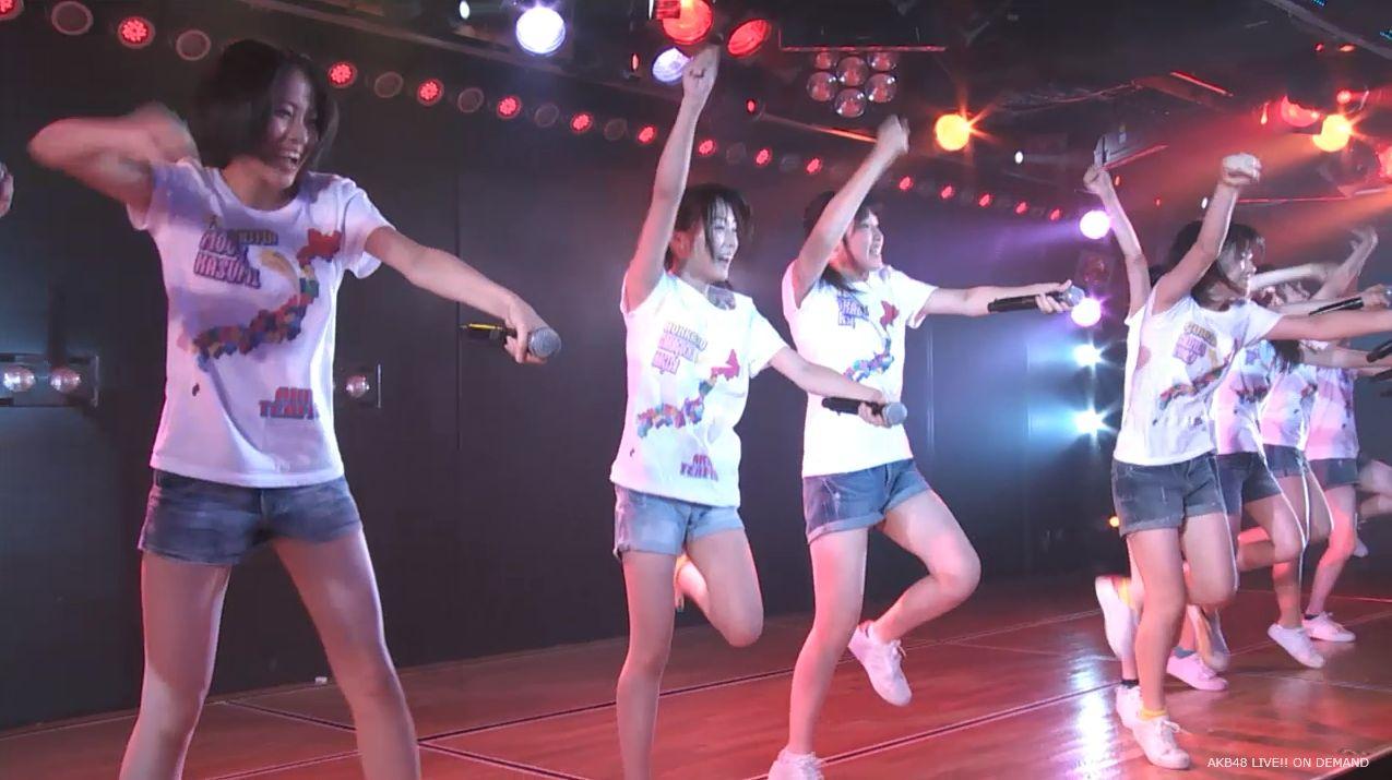 チーム8坂口渚沙 劇場公演デビュー 20140806 (102)