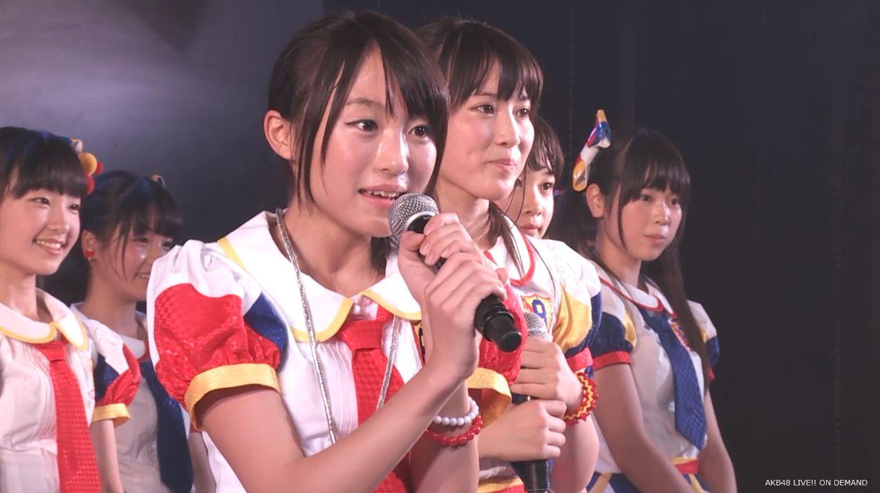 チーム8坂口渚沙 劇場公演デビュー 20140806 (166)