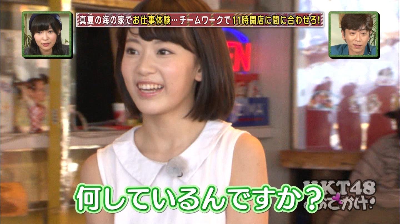 HKT48おでかけ 海の家 宮脇咲良 20140814 (2)