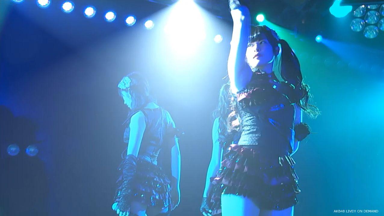 AKB48 チームAツインテール公演 田北香世子 自己紹介&黒い天使 (8)