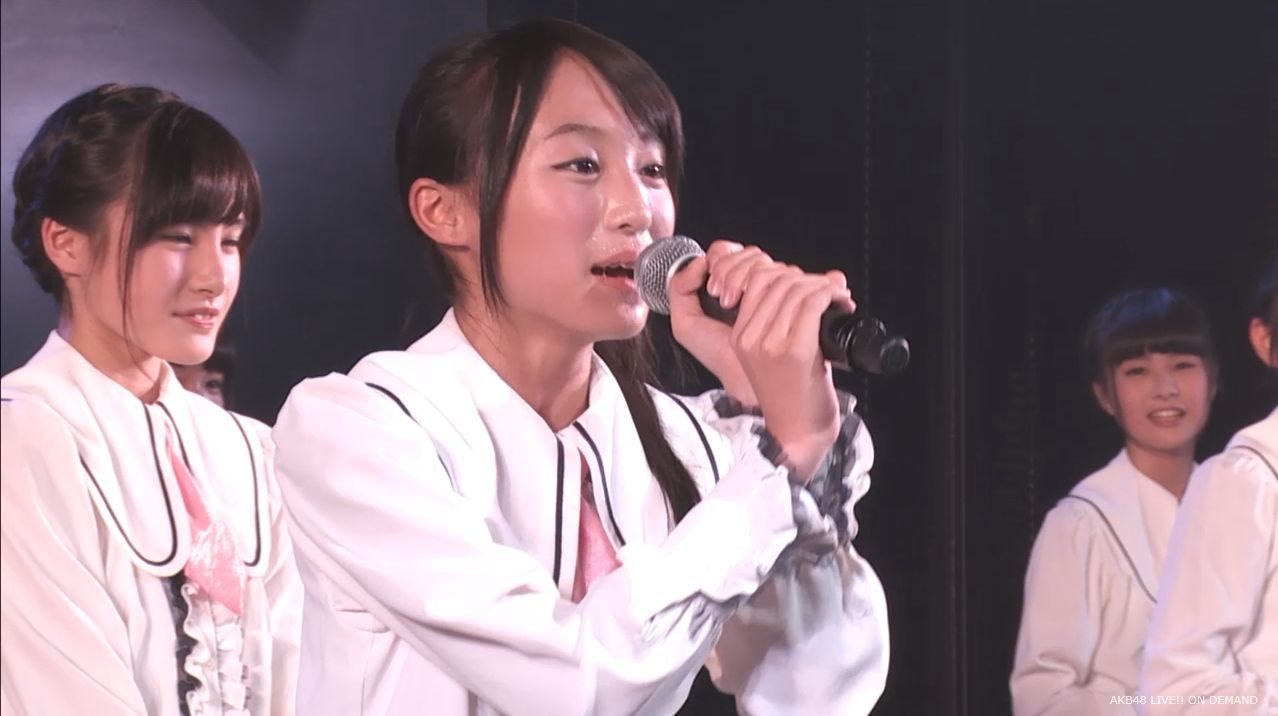 チーム8坂口渚沙 劇場公演デビュー 20140806 (14)