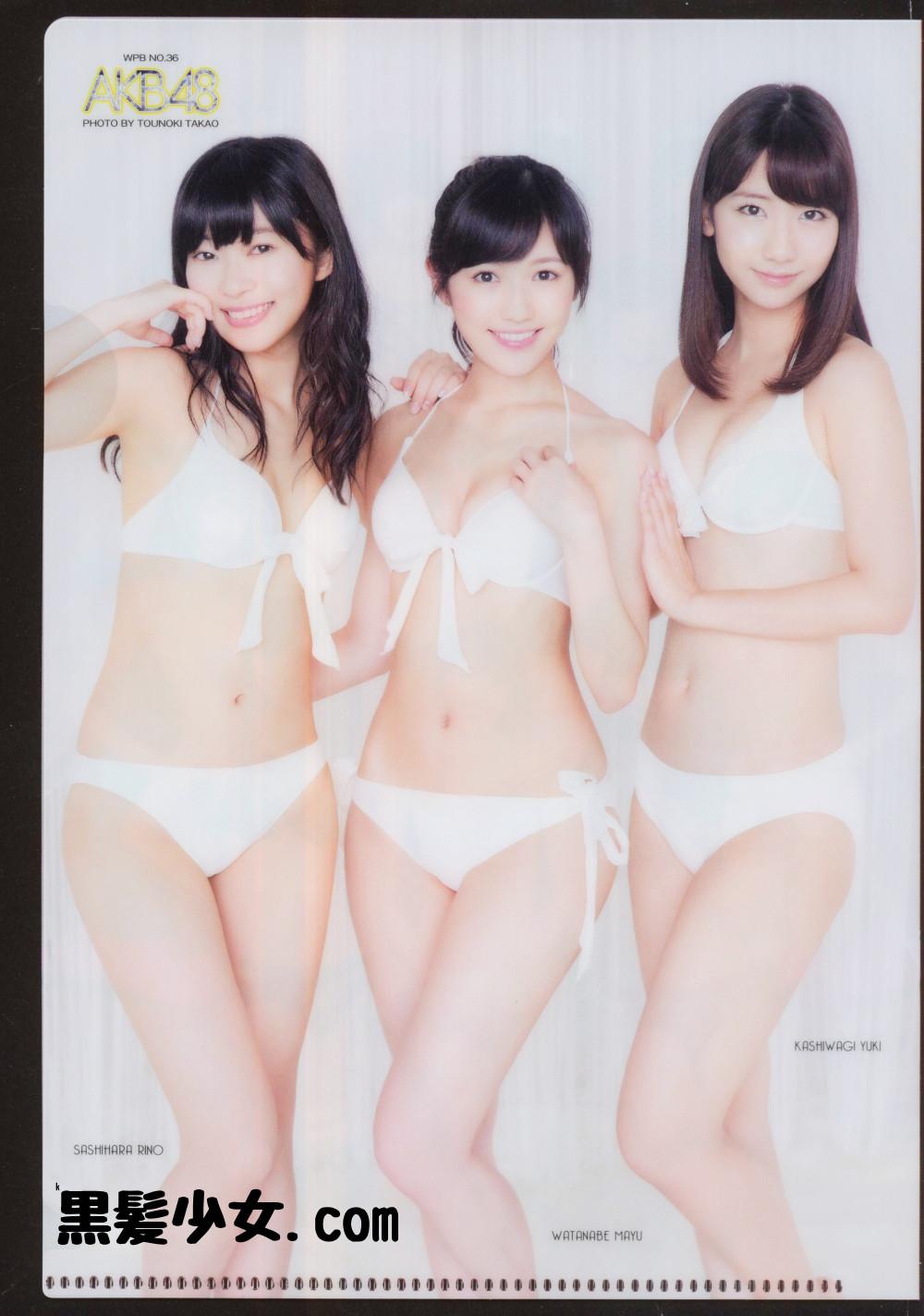 週プレ AKB48 クリアファイル02