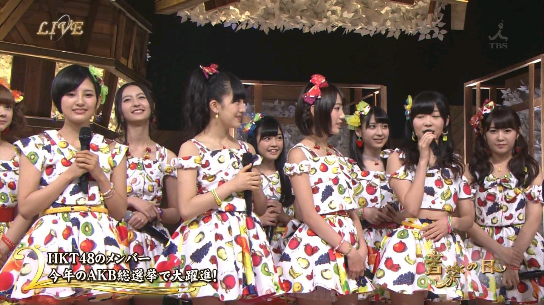音楽の日 宮脇咲良AKB48 HKT48 20140802 (2)