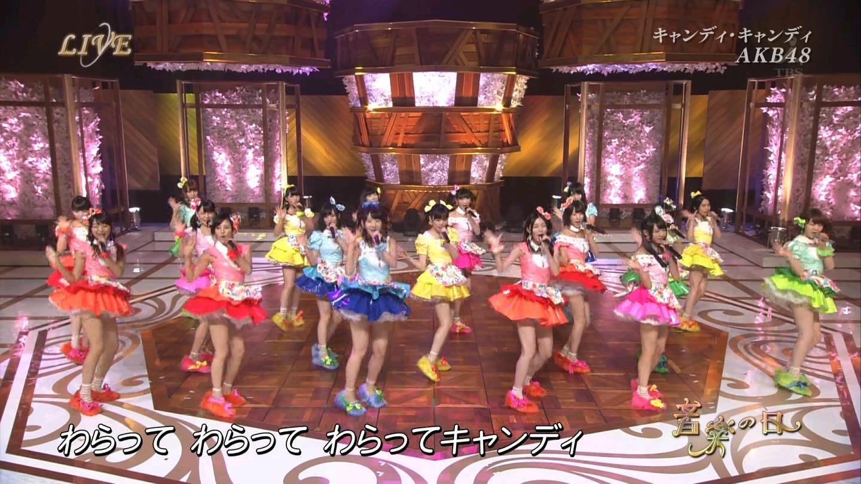 音楽の日 宮脇咲良AKB48 HKT48 20140802 (43)