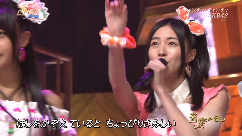 音楽の日 AKB48 キャンディ・キャンディ 20140802 (50)