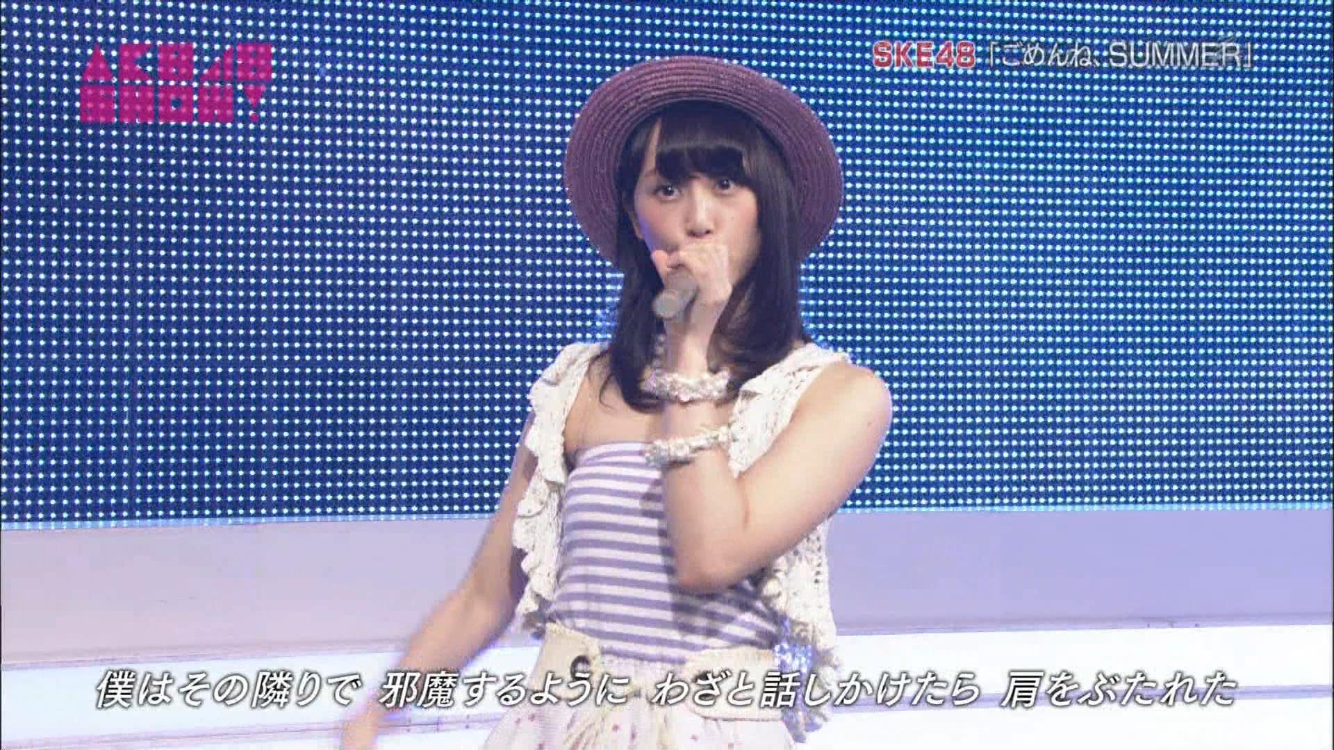 AKB48SHOW ごめんね、SUMMER 松井玲奈 20140830 (6)