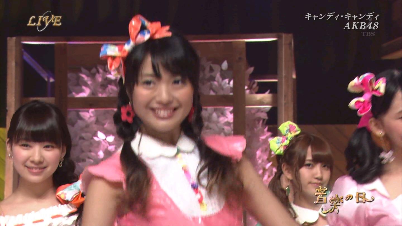 音楽の日 AKB48 キャンディ・キャンディ 20140802 (27)