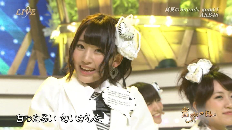音楽の日 宮脇咲良AKB48 HKT48 20140802 (68)