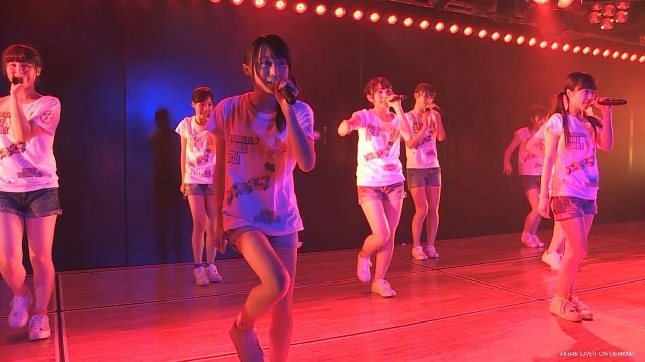 チーム8坂口渚沙 劇場公演デビュー 20140806 (108)