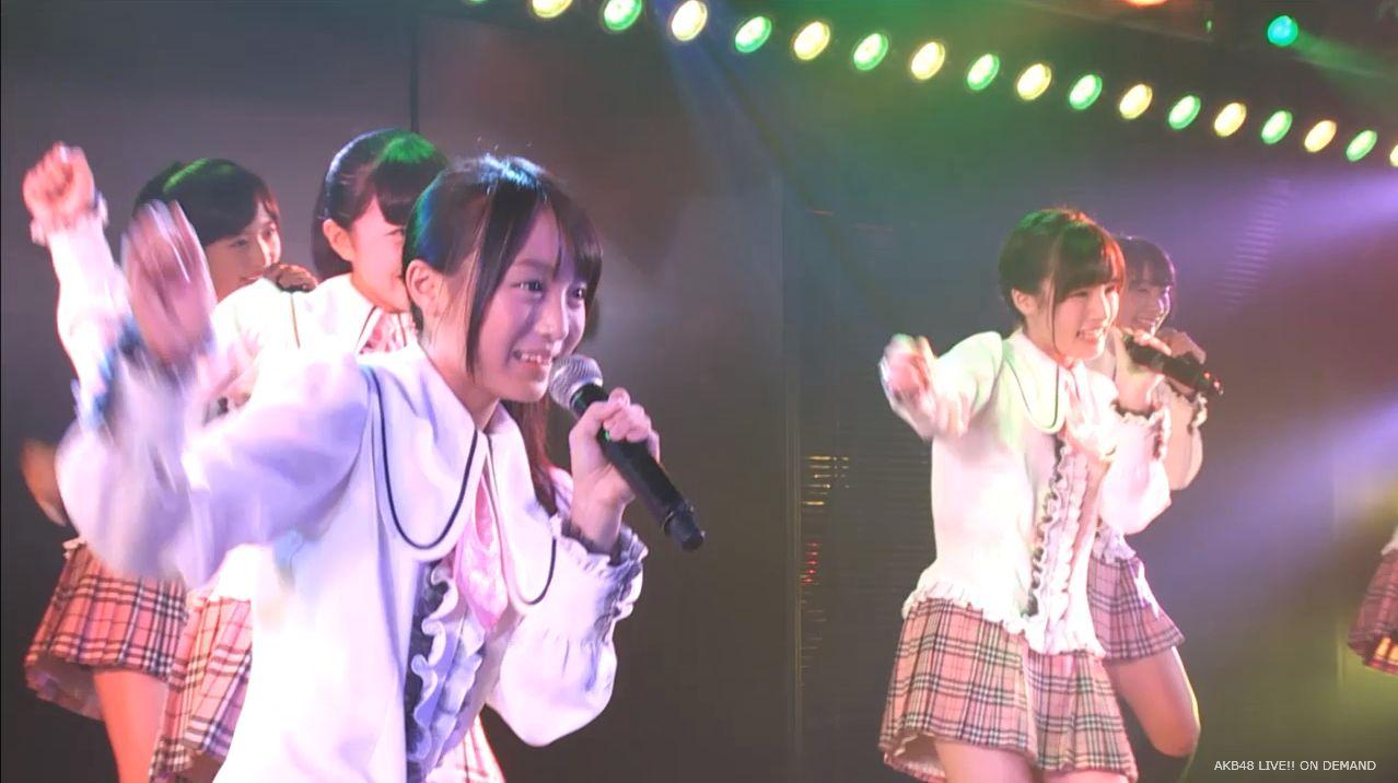 チーム8坂口渚沙 劇場公演デビュー 20140806 (12)