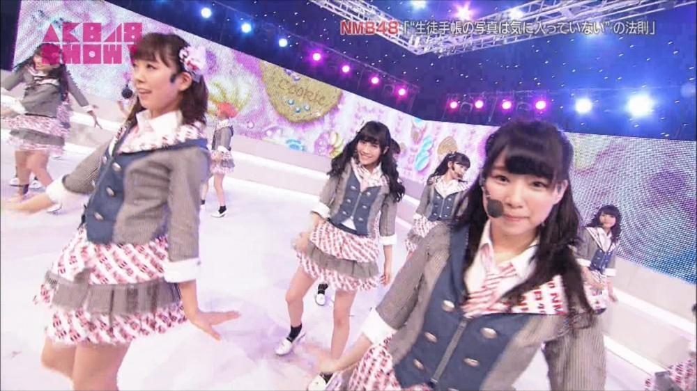 AKB48SHOW NMB48生徒手帳の写真は気に入ってないの法則 20140816 (59)_R
