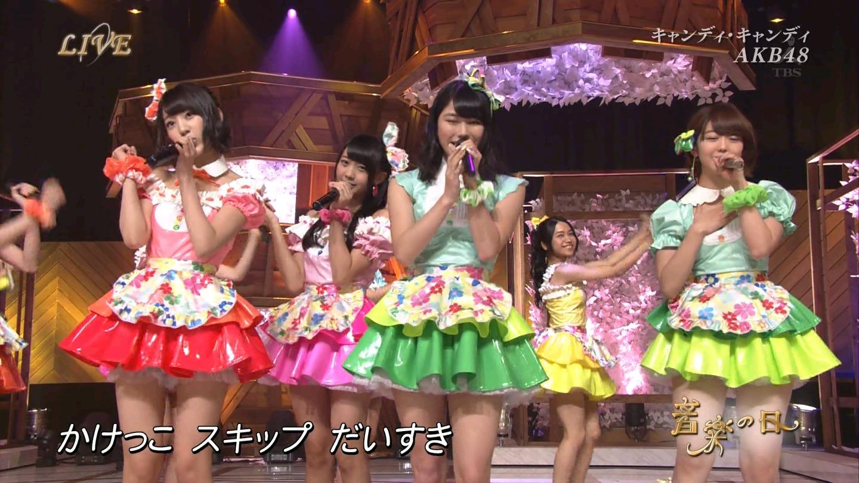 音楽の日 AKB48 キャンディ・キャンディ 20140802 (16)