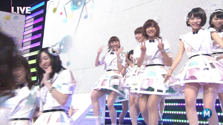 ミュージックステーション AKB48宮脇咲良 心のプラカード 20140829 (8)