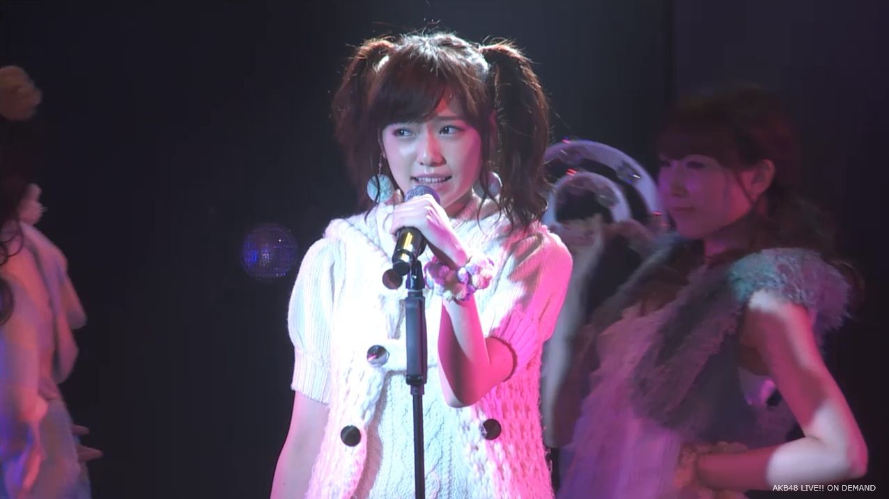 AKB48 チームAツインテール公演  島崎遥香 ハート型ウィルス