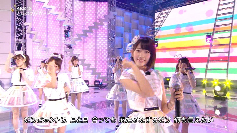 FNS 宮脇咲良 20140813  (17)
