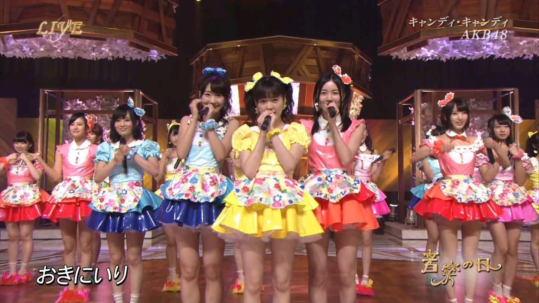 音楽の日 AKB48 キャンディ・キャンディ 20140802 (12)