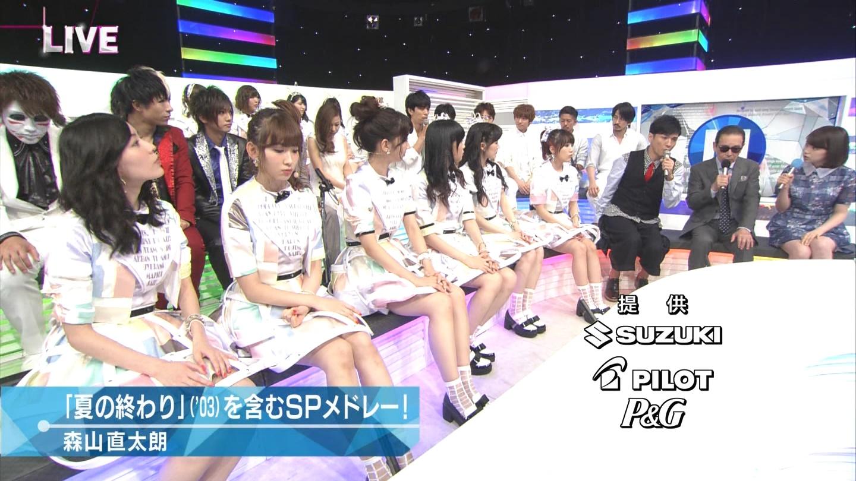 ミュージックステーション AKB48柏木由紀 心のプラカード 20140829 (46)
