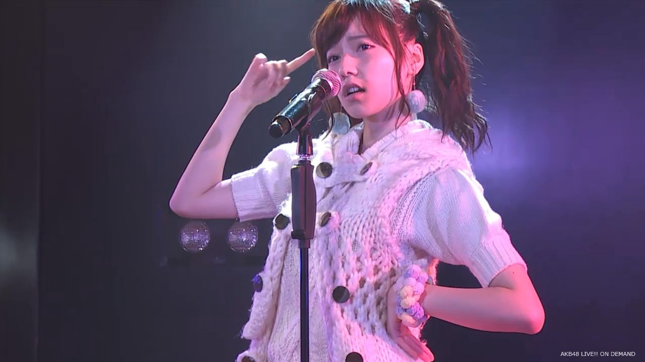 AKB48 チームAツインテール公演  島崎遥香 ハート型ウィルス (5)