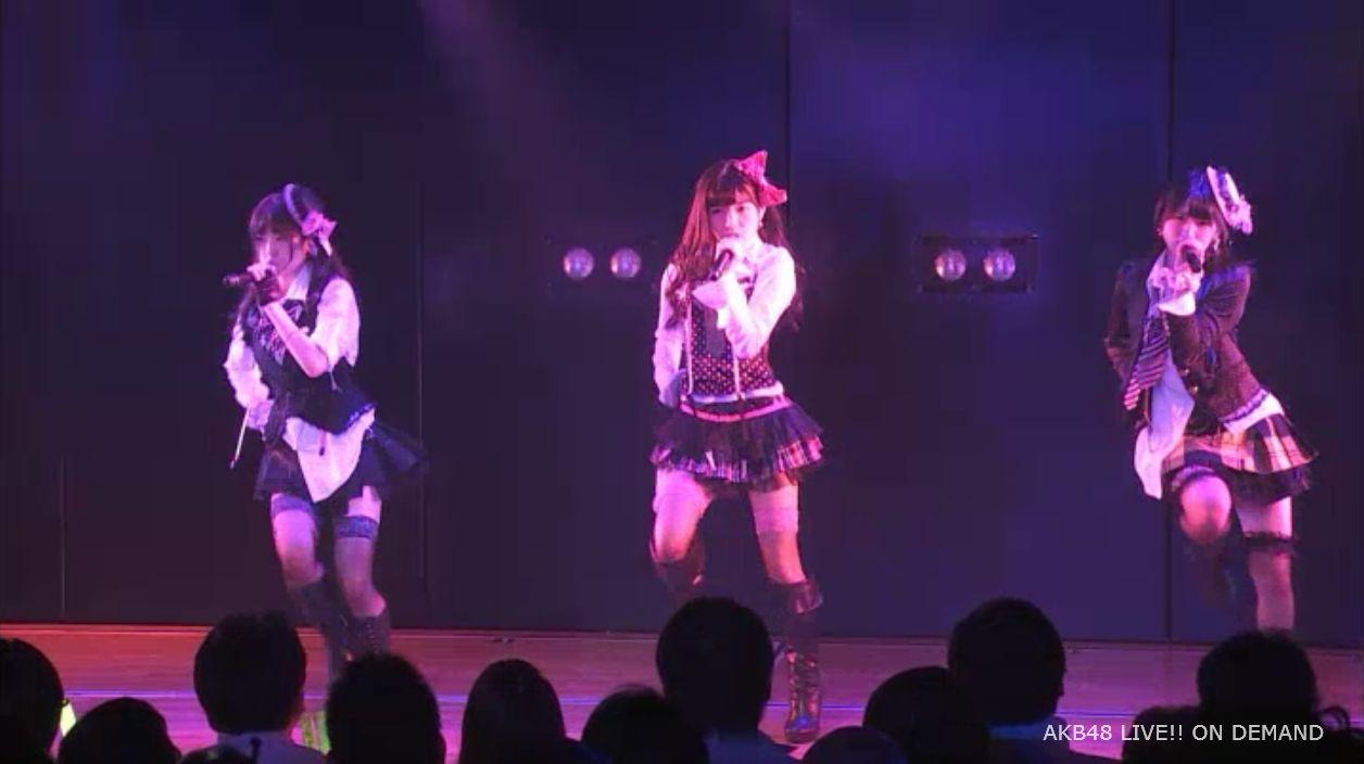 AKB48岡田奈々 口移しのチョコレート (40)