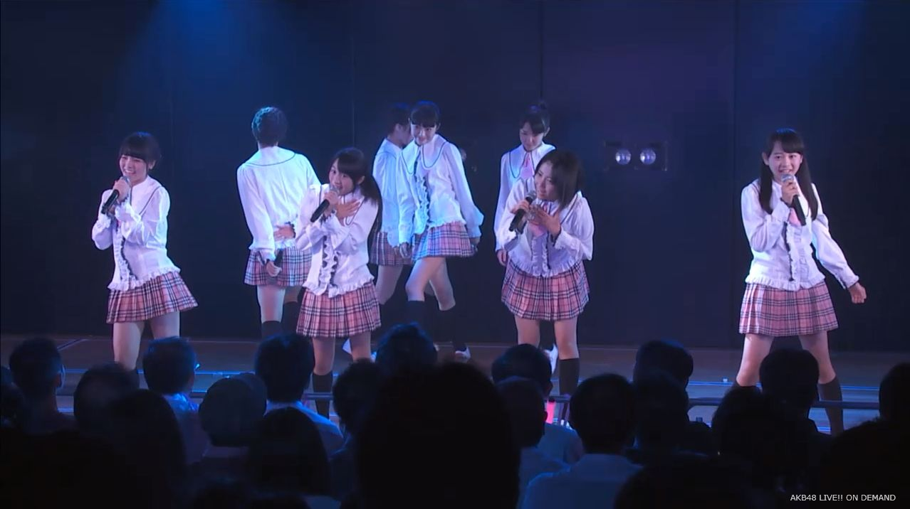 チーム8坂口渚沙 劇場公演デビュー 20140806 (5)