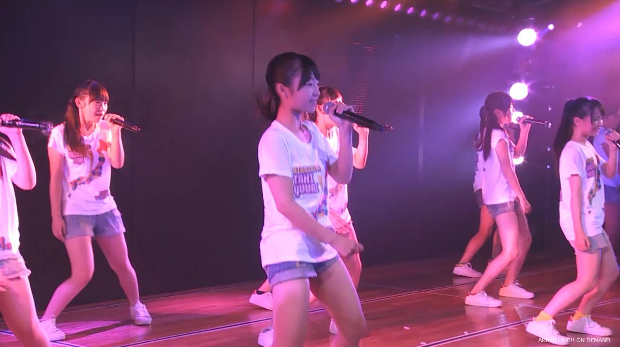AKB48チーム8 スカートひらり 20140805 (3)