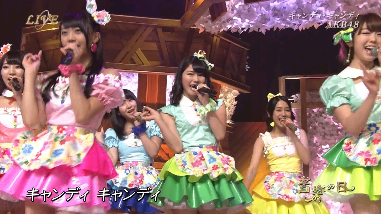 音楽の日 AKB48 キャンディ・キャンディ 20140802 (60)