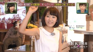 HKT48おでかけ 海の家 宮脇咲良 20140814 (16)
