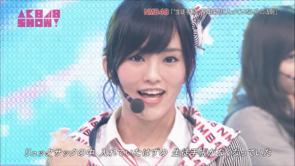 AKB48SHOW NMB48生徒手帳の写真は気に入ってないの法則 20140816 (12)_R