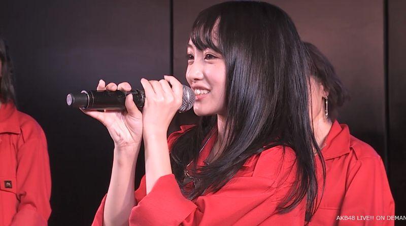AKB48向井地美音 チーム4公演 自己紹介 20140731 (3)