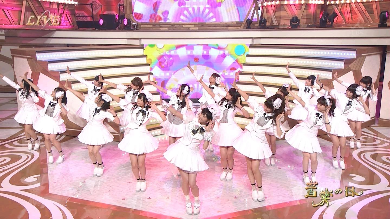 音楽の日 宮脇咲良AKB48 HKT48 20140802 (53)