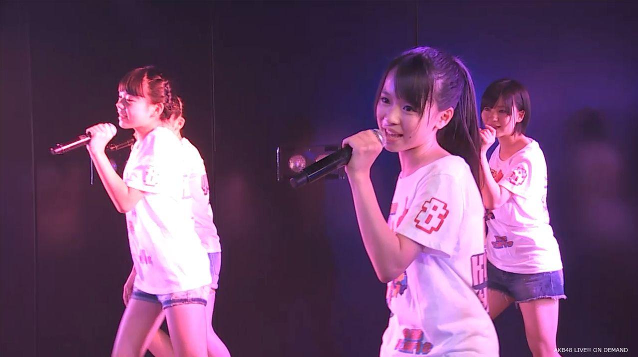 AKB48チーム8 スカートひらり 20140805 (5)